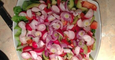 Salata asortata de sezon