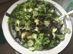 Salata din cartofi noi (de post)