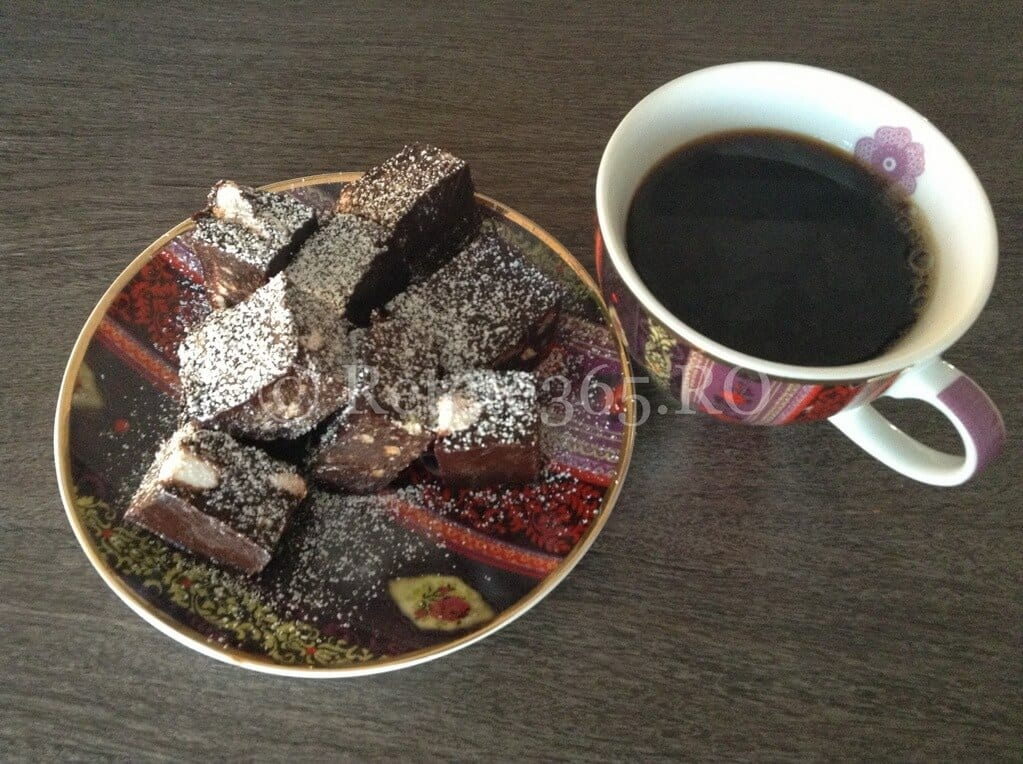 Batoane cu ciocolata neagra